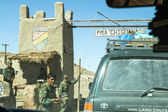 One of military checkpoints on Altiplano, Bolivia. — Stock Photo
