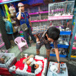Unidentified seller shop at Chatuchak Weekend Market in Bangkok, Thailand. — Stock Photo #39025631