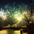 Celebration Scarlet Sails show during White Nights Festival — Stock Photo #39025717