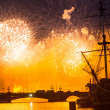 Celebration Scarlet Sails show during White Nights Festival — Stock Photo #39025757
