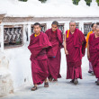Unidentified monks — Stock Photo #39532993