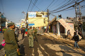 Police népalaise inconnu — Photo