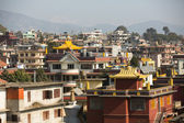 Houses in the area Boudha — Stock Photo