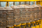 Tibetan Buddhist wheels — Stockfoto