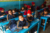 Pupils in English class at primary school — Photo