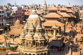 View of the Patan Durbar Square — Stock Photo