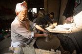 Unidentified Nepalese man — Stock Photo