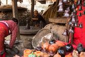 Homme non identifié du népal — Photo