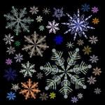 Snowflake Vectors — Stock Vector #40029181