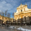 Church of Saints Peter and Paul in Krakow — Stock Photo