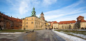 Royal Archcathedral Basilica of Saints Stanislaus and Wenceslaus on the Wawel Hill — Stock Photo