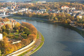 View of the Vistula River in Poland — Stock Photo