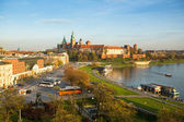 Vistula River in Poland — Stock Photo