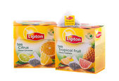 Lipton Pyramid Tea — Stock Photo