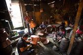 Nepalska gruntów pracy — Zdjęcie stockowe