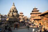 Patan Durbar Square  in  Kathmandu — Stock Photo