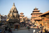 Patan Durbar Square  in  Kathmandu — Stock Photo