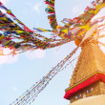Bodhnath Stupa in Kathmandu — Stock Photo #41444051