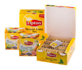 Packs of tea — Stock Photo