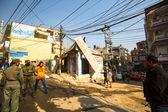 неизвестный непальская полиция — Стоковое фото
