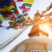 Bodhnath Stupa in Kathmandu — Stock Photo