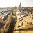 KRAKOW, POLAND  roofs of old town in centre. — Stock Photo #41830073