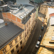 KRAKOW, POLAND roofs of the old town in the centre. — Stock Photo #41830079
