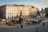Adam Mickiewicz Monument in the Main Square. — Stock Photo