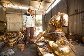 Não identificado tinman nepalesa — Foto Stock