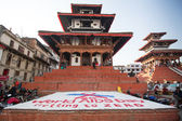 World AIDS Day on Durbar Square — Stockfoto