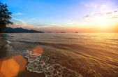 Sunset of sea — Foto Stock