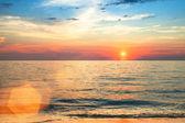 Günbatımı okyanus — Stok fotoğraf