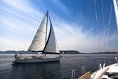 Yachting in Greece — Foto de Stock