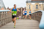 Krakow international Marathon. — Stock Photo