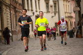 Krakow international Marathon. — ストック写真