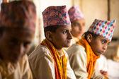 Children in Nepal school — Stock Photo