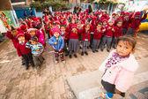 Lesson in Nepal school. — Stock Photo