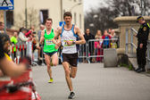 Krakow international Marathon — ストック写真