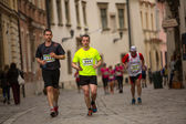 Krakow international Marathon — Stock Photo