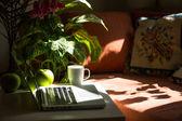Teclado de notebook — Foto Stock