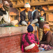 People on the Old Durbar Square — Stock Photo