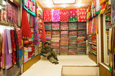 Street vendor in Kathmandu — Foto de Stock