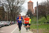 Maratona internazionale di cracovia — Foto Stock