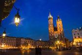 Церковь Святой Марии на Рынек Гловны — Стоковое фото