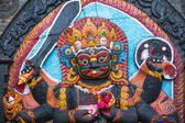 Kaal Bhairav statue — Stock Photo