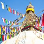 Bodhnath Stupa with Buddha Eyes — Stock Photo #44950613