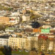 Aerial view of one of the districts in historical center of Krakow — Stock Photo #44953345