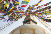 Bodhnath Stupa in Kathmandu. — Stock Photo