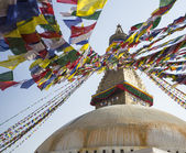 Bodhnath Stupa in Kathmandu — Stock Photo