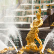 Grand Cascade Fountains at Peterhof Palace — Stock Photo #45246213